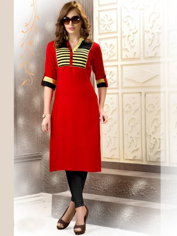 https://static3.cilory.com/115539-thickbox_default/majestic-red-regular-wear-kurti.jpg