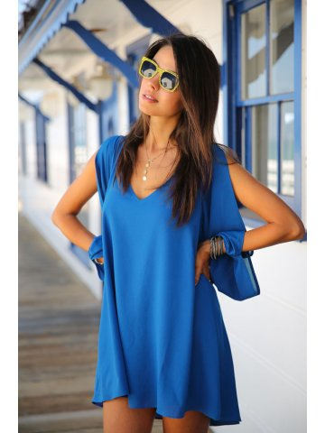 https://static6.cilory.com/116900-thickbox_default/blue-chiffon-leisure-mini-skater-jersey-dress.jpg