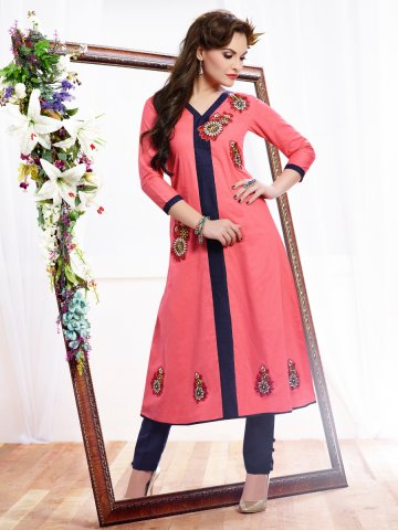 https://static8.cilory.com/134509-thickbox_default/monsoon-series-pink-cotton-kurti.jpg