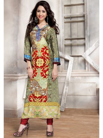 https://d38jde2cfwaolo.cloudfront.net/154584-thickbox_default/victorian-clothing-green-printed-kurti.jpg