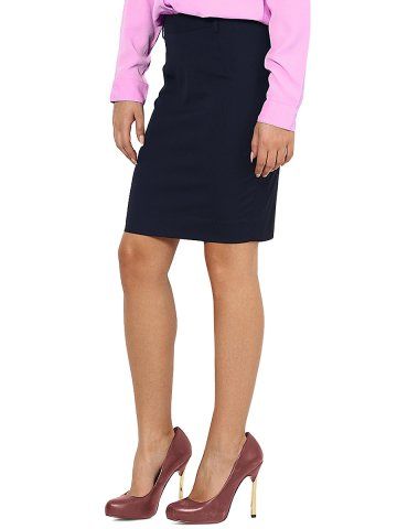 Arrow Women Navy Formal Skirt at cilory
