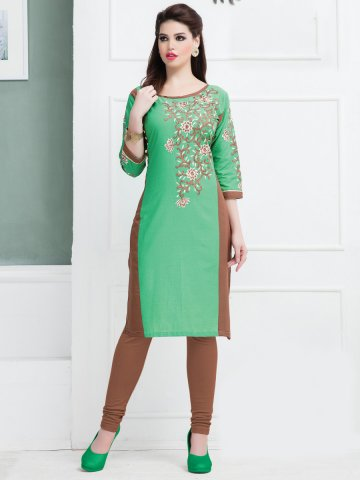 https://static2.cilory.com/192513-thickbox_default/feminista-green-cotton-embroidered-kurti.jpg