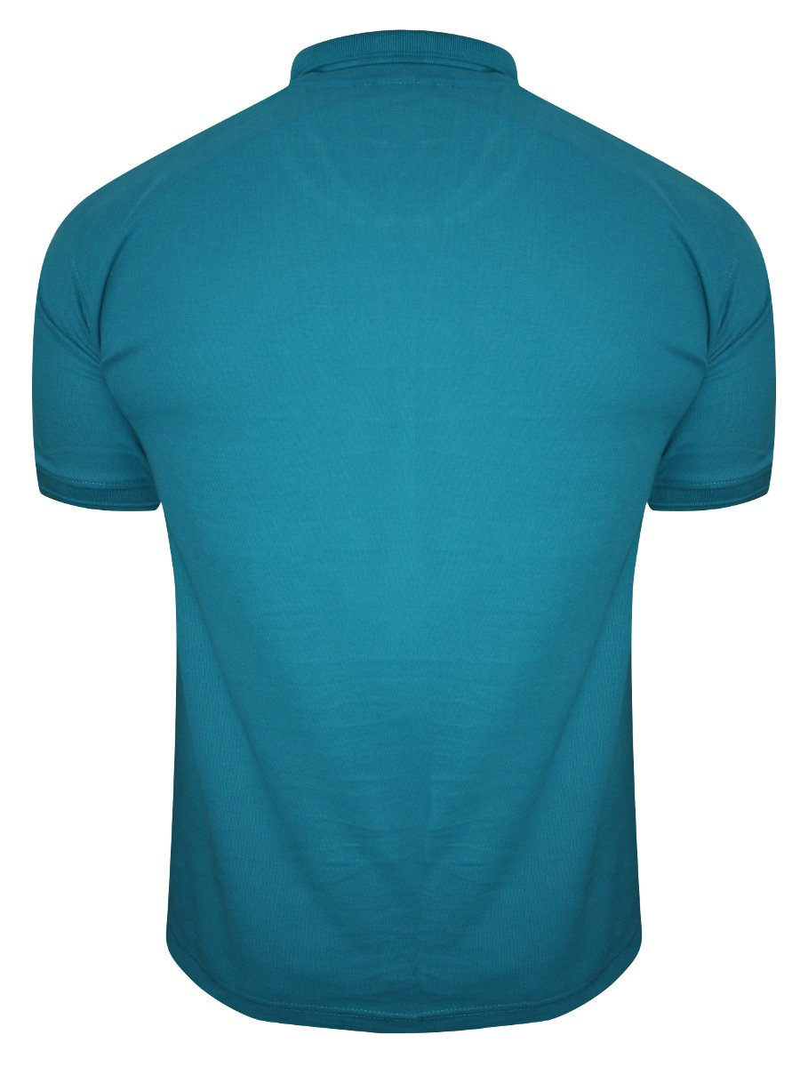 Buy t shirts online fila teal polo t shirt 12004389 for Mens teal polo shirt