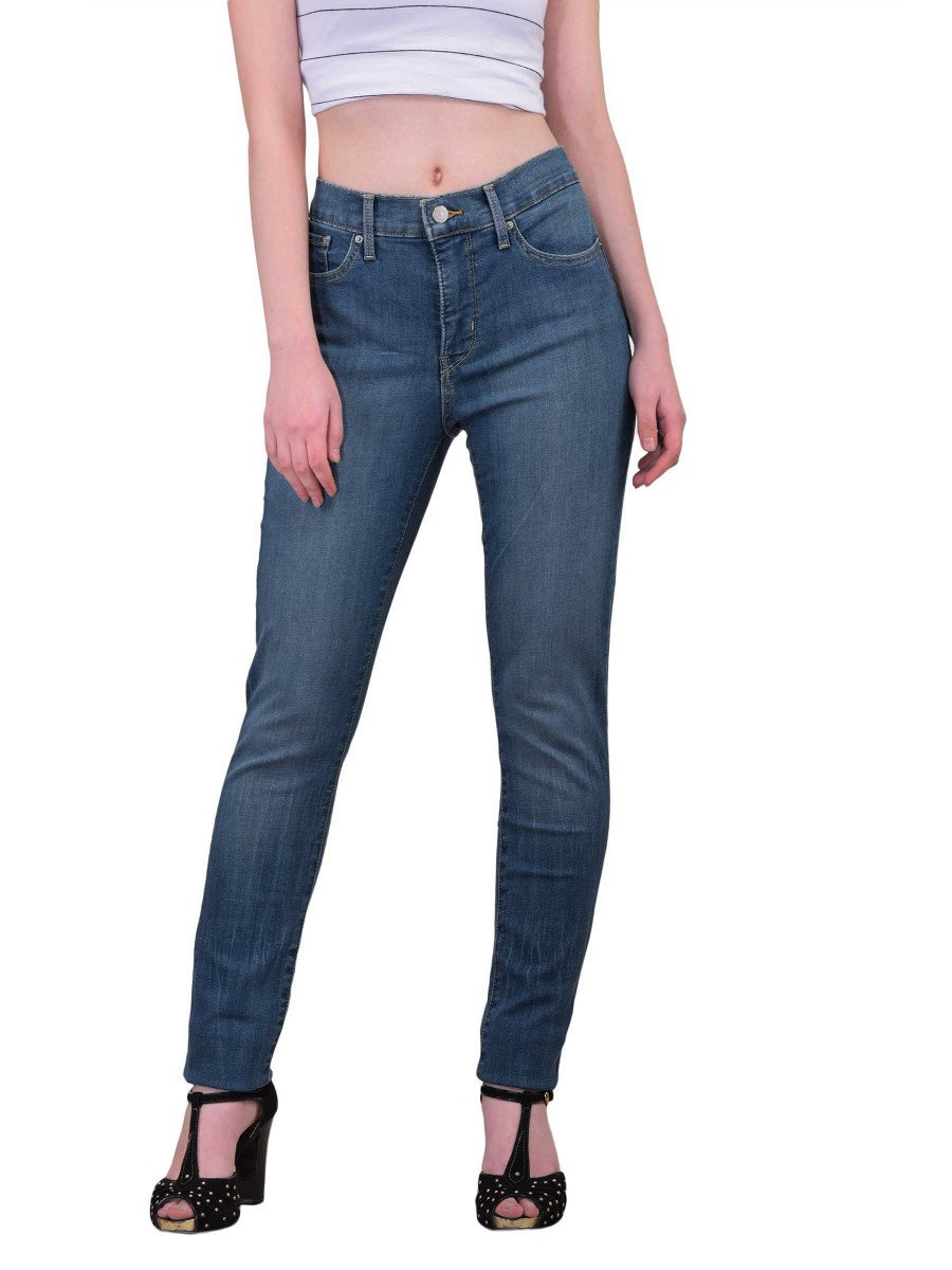 levis 311 shaping skinny stretch blue jeans 21944 0033. Black Bedroom Furniture Sets. Home Design Ideas