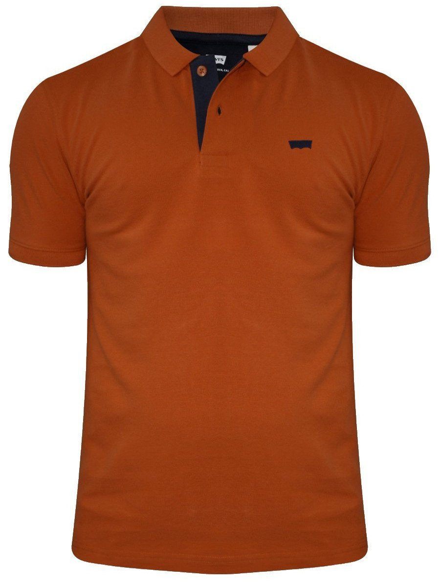 Buy T Shirts Online Levis Rust Polo T Shirt 17474 0026