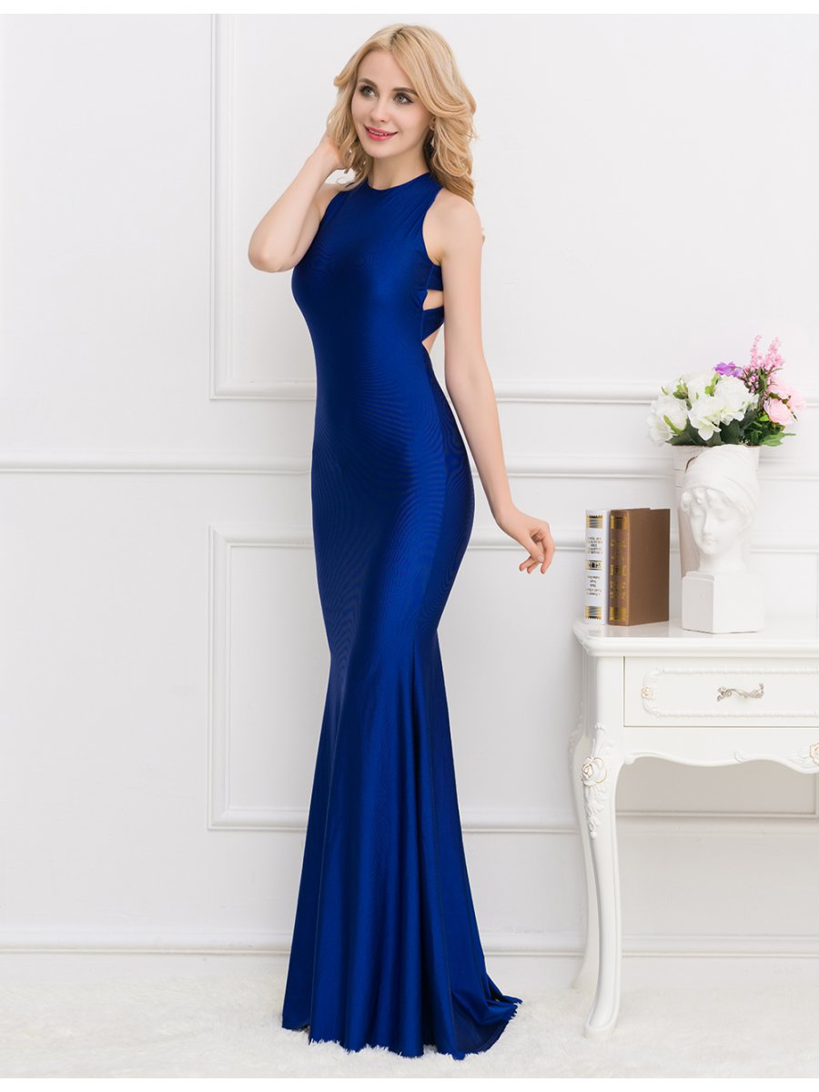 Classic Crisscross Dream Evening Gown | V1013-2 | Cilory.com