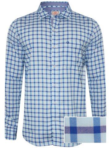 https://static.cilory.com/274782-thickbox_default/londonbridge-blue-men-s-casual-checks-shirt.jpg