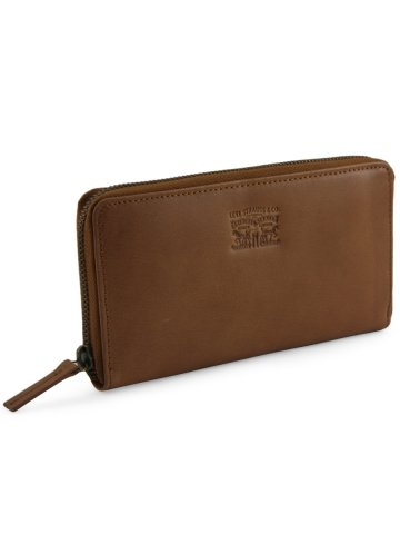 Levis Tan Leather Wallet at cilory