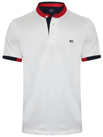 Arrow White Polo T-Shirt at cilory