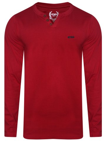 https://static2.cilory.com/290045-thickbox_default/monte-carlo-cd-red-henley-full-sleeves-t-shirt.jpg