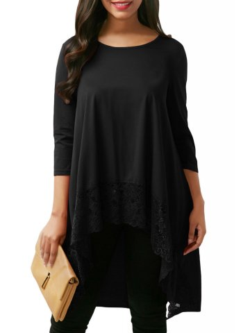 https://static2.cilory.com/316747-thickbox_default/black-lace-splice-high-low-hemline-blouse.jpg