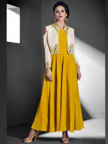 https://static8.cilory.com/331582-thickbox_default/sasya-yellow-kurti-with-cold-shoulder-white-jacket.jpg