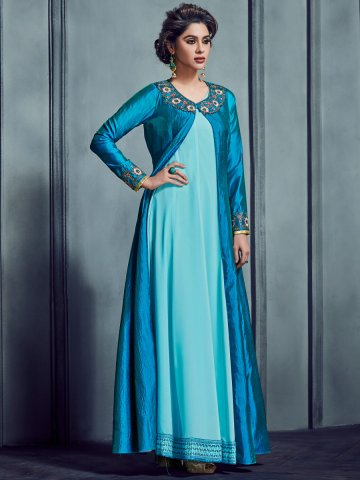 https://d38jde2cfwaolo.cloudfront.net/364100-thickbox_default/arihant-sky-blue-turquoise-embroidered-kurti-with-jacket.jpg