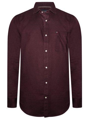 https://static4.cilory.com/366609-thickbox_default/peter-england-burgundy-cotton-linen-shirt.jpg