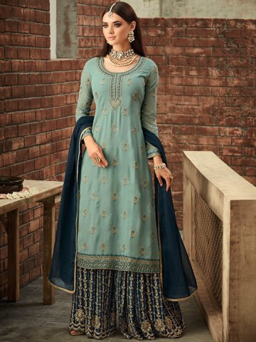 https://static1.cilory.com/370591-thickbox_default/sky-blue-semi-stitched-heavy-work-sharara-suit.jpg
