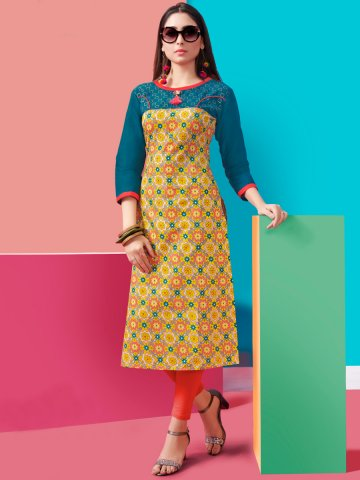 https://static6.cilory.com/373498-thickbox_default/yellow-lawn-cotton-printed-kurti.jpg
