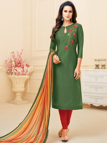 https://static9.cilory.com/383881-thickbox_default/green-chanderi-cotton-semi-stitched-suit.jpg