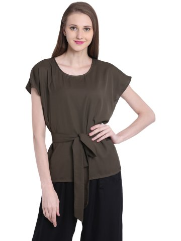 https://static.cilory.com/393512-thickbox_default/orphee-olive-bat-sleeves-top-with-belt.jpg