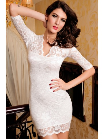 https://static9.cilory.com/39435-thickbox_default/ladies-v-neck-mini-slim-lace-dress-clubwear-half-sleeves-white.jpg