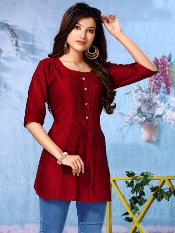 https://d38jde2cfwaolo.cloudfront.net/397527-thickbox_default/maroon-rayon-printed-top.jpg