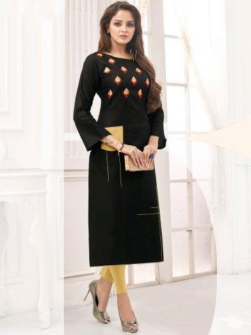 https://static8.cilory.com/399454-thickbox_default/black-embroidered-cotton-kurti.jpg
