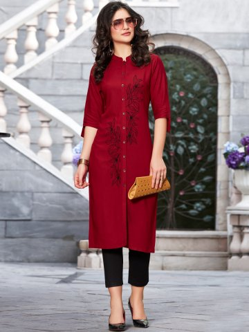 https://static4.cilory.com/403316-thickbox_default/100-miles-front-slit-embroidered-kurta.jpg