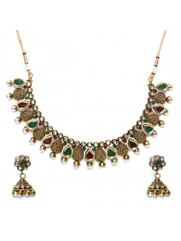 https://static7.cilory.com/41095-thickbox_default/elegant-polki-work-necklace-set-carved-with-stone-and-beads.jpg