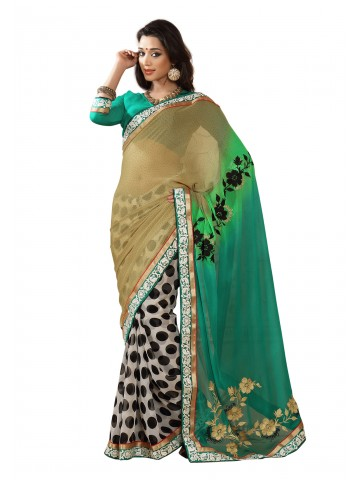 https://static8.cilory.com/87130-thickbox_default/fabdeal-georgette-embroidered-brown-turquoise-saree.jpg