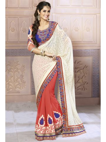 https://static6.cilory.com/97886-thickbox_default/designer-embroidered-redish-and-off-white-saree.jpg